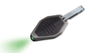 INOVA - Microlight - Black - Green LED